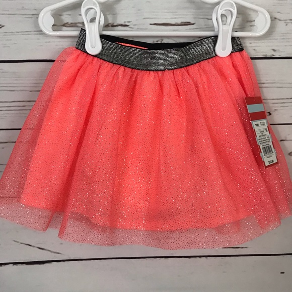 2b325b50f6 Cat & Jack Bottoms | Nwt Cat Jack Sparkly Tulle Skirt Size 18m ...